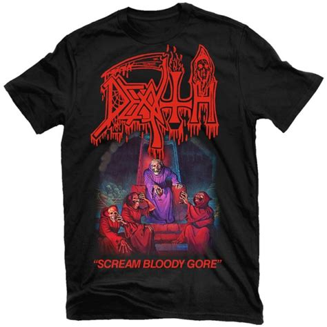 death scream bloody gore  shirt relapse records