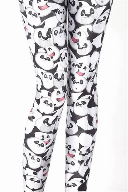 Panda Leggings Milk Cartoon Pants Emoji Tattoos