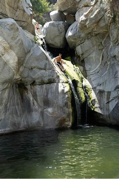 Hermit Falls Arcadia California Hiking Southern Slides