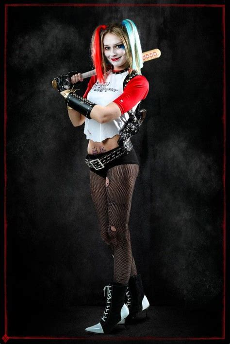 Diy Harley Quinn Suicide Squad Cosplay And Makeup