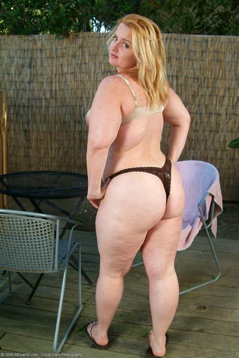 Chubby Blonde Glasses Pov