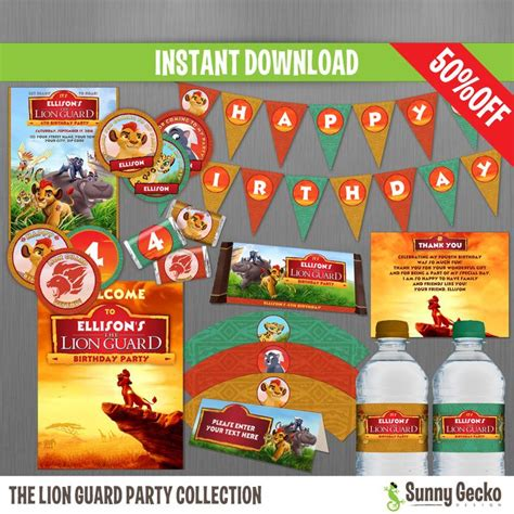 1000+ Images About The Lion Guard Birthday Party On