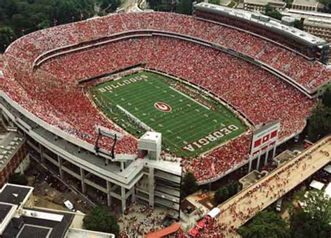 sanford stadium seating chart row seat numbers