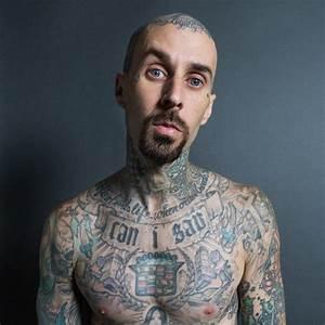 Travis Barker Talks Tattoos and Pain   Travis barker ...