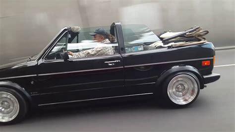 vw mk1 golf cabrio