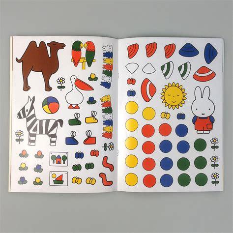 miffy dress  colouring sticker book moon picnic