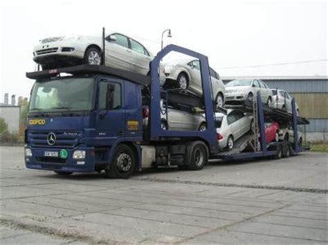 Chauffeur Porte Voiture by Porte Voiture De Chez Gefco Les Camions C Est Ma