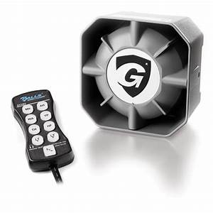 Galls Concealment Speaker And Street Thunder 100w Remote