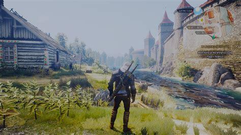 witcher  wild hunt    graphics mod
