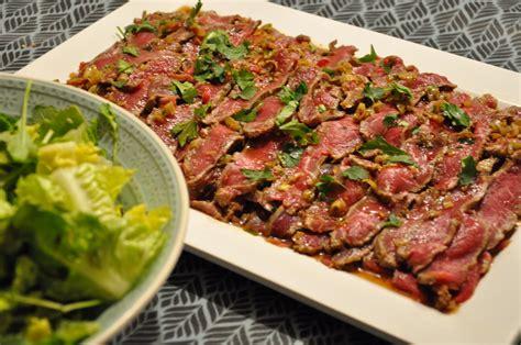 cuisine entre amis cuisine entre amis boeuf tataki mariné cuisine