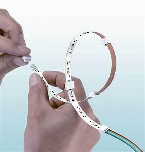 Led Streifen Anschließen Anleitung : flexible led streifen bequem und sicher anschlie en ~ Markanthonyermac.com Haus und Dekorationen