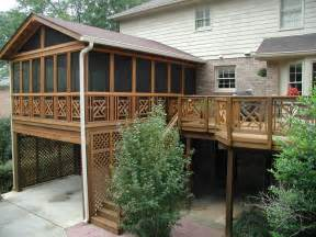 Decks And Porches Pictures Photo Gallery by Archadeck Of The Piedmont Triad Advises There Are 2