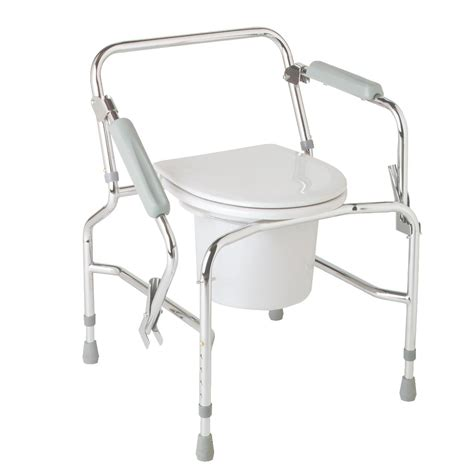 steel drop arm commode careway wellness center