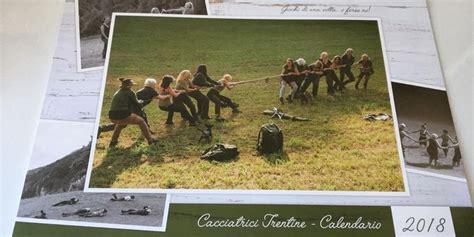 presentata ledizione del calendario delle cacciatrici trentine