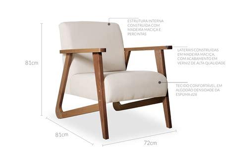Poltrona Design Confortavel : Poltrona Individual De Madeira