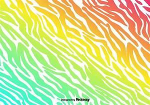 Vector Colorful Zebra Stripes Background - Download Free ...
