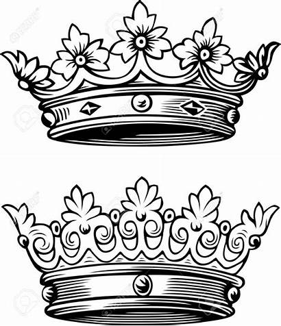 Crown Queen King Tattoo Drawing Crowns Drawings