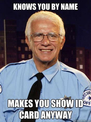 Security Guard Meme - security officer meme memes