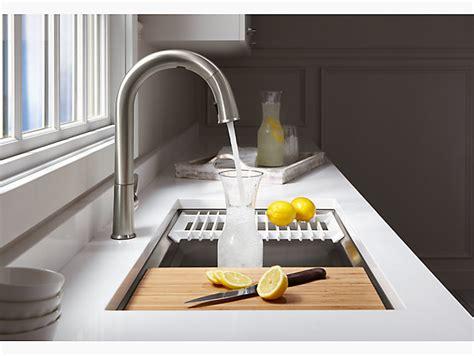 kohler kitchen sink accessories k 5540 prolific mount stainless steel sink with 6686