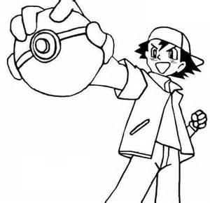 Pokemon Ball Coloring Pages