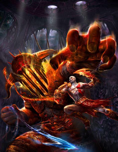 Hayeslaureano All God Of War Fighting Scene