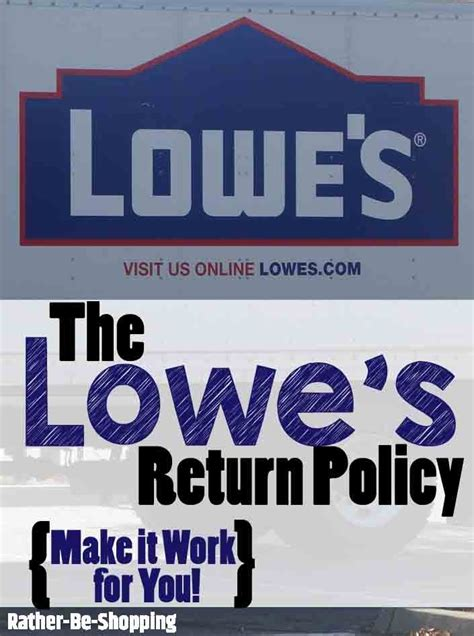 lowe s return policy make it work for you and rock your next diy project