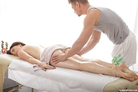 marina visconti gets her boobs fucked at massage 1 of 2