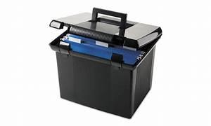 pendaflex portafile file storage box letter plastic With plastic letter file box