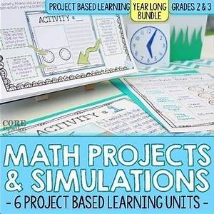 Math Project Based Learning (PBL) Bundle | Math Workshop ...