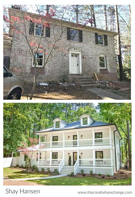 before and after house renovation jaw dropping total home renovation project
