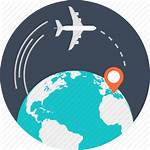Travel International Icons Icon Global Airplane Policy