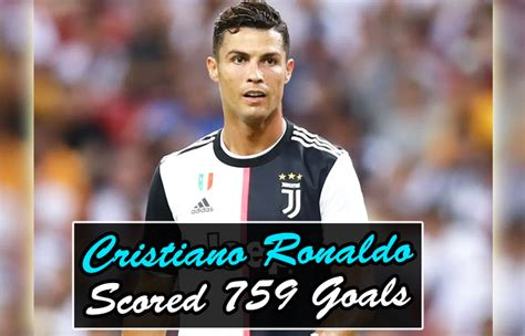 Cristiano Ronaldo Equals Josef Bican by Scoring 759 Goals ...