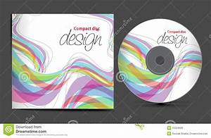 cd cover design stock vector image of equipment fractal With cd cover design online
