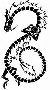 Cool Animal Tattoos - Japanese and Chinese Tribal Dragon ...