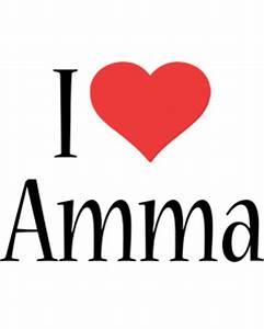 Amma Logo | Name Logo Generator - Kiddo, I Love, Colors Style