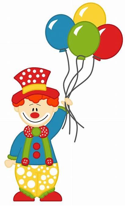 Circus Clipart Balloons Transparent Hello Say Clip