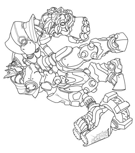 Kleurplaten Overwatch by N 30 Coloring Pages Of Overwatch