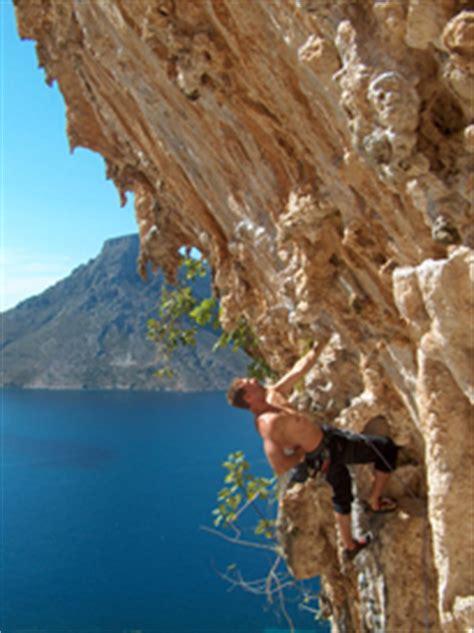 Sports rock climbing, Arico, Tenerife, Spain