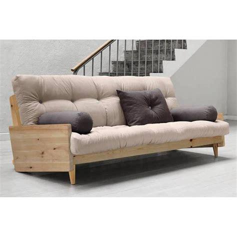 canapés futon canapés et convertibles canapé 3 4 places
