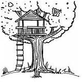 Coloring Tree Treehouse Pages Drawing Amazing Colouring Drawings Printable Beach Getcoloringpages Magic Books Bestcoloringpagesforkids sketch template