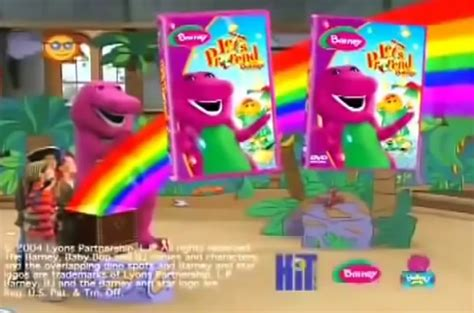 Barney And The Backyard Previews - image let s pretend with barney preview png custom