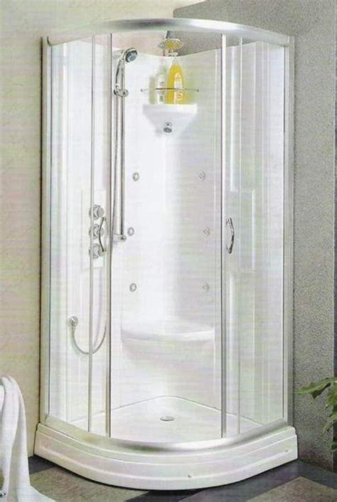 Small Bathroom Designs With Shower Stall by Shower Stalls For Small Bathrooms