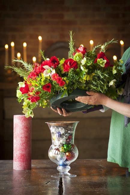 christmas vase centrepiece sarah raven