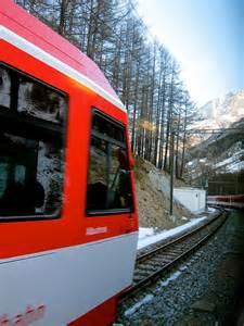Switzerland Train Ride Through