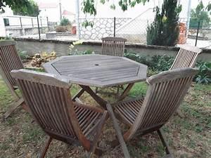 Table De Jardin Occasion : table basse de jardin en bois exotique ~ Preciouscoupons.com Idées de Décoration