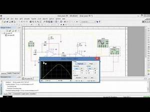 Simulating Band Pass Filter In Multisim