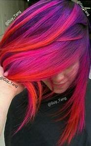 Unicorn's mane Rainbow Clip In Hair Extensions Hand Dyed