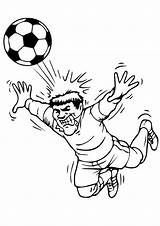 Football Coloring Printable Pages Sheets Print Soccer sketch template
