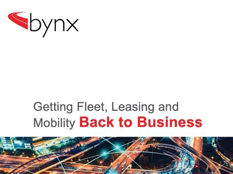 Latest mobility options and fleet right sizing explored in