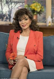 Joan Collins was put on slimming pills for being 'too fat ...
